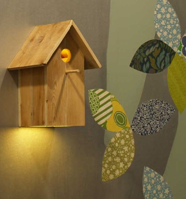 Inkebirdhouse lamp